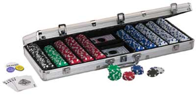 Texas Hold' Em 500 Count Chip Set