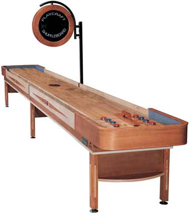 Telluride Honey Shuffleboard Table for sale