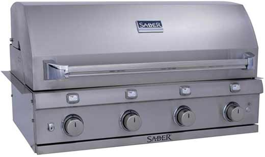 Saber Infrared Grill SS 670 Built In
