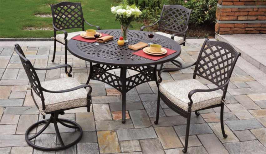 Cast Aluminum Patio Furniture | Pelican NJ & PA Patio Store