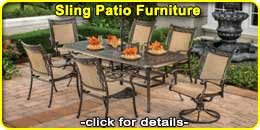 Sling Patio & Outdoor Furniture
