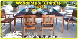 Wood Patio & Outdoor Furniture