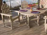 Adirondack Polywood Patio Furniture