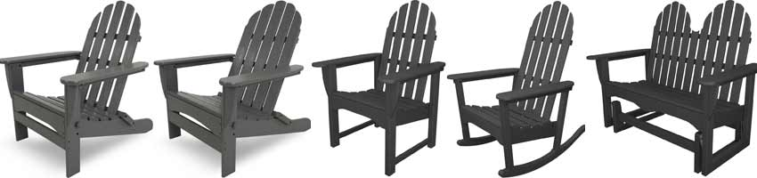 Polywood Adirondack Patio Chairs