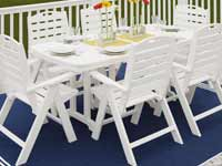Nautical Polywood Patio Furniture