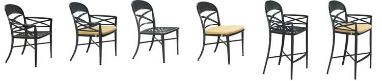 Antico Patio Furniture Set