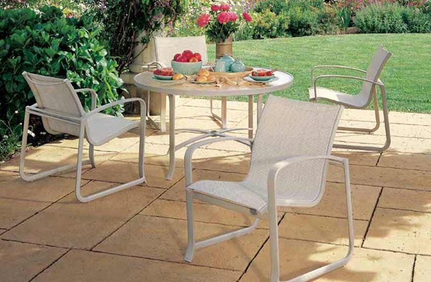 Tropitone Spinnaker Patio Furniture Set