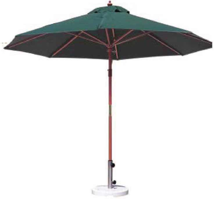 DWL U-9A Patio Umbrella