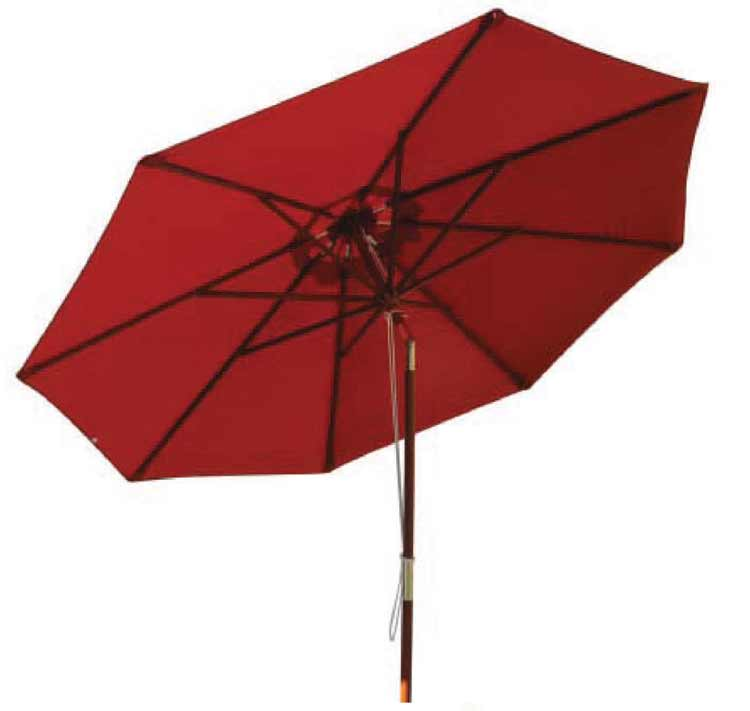 DWL U-9T Patio Umbrella