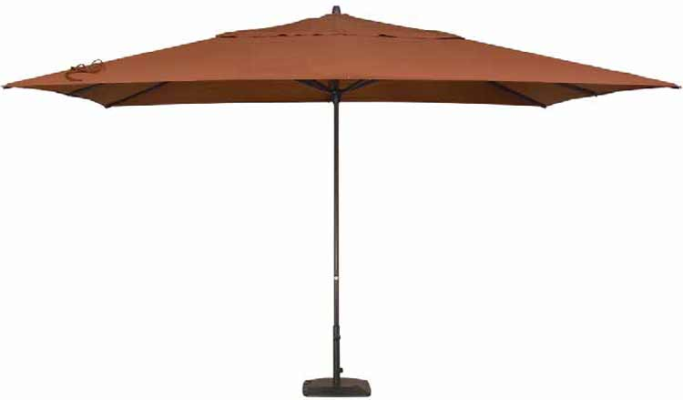 10' x 13' Easy Track Rectangle Patio Umbrella