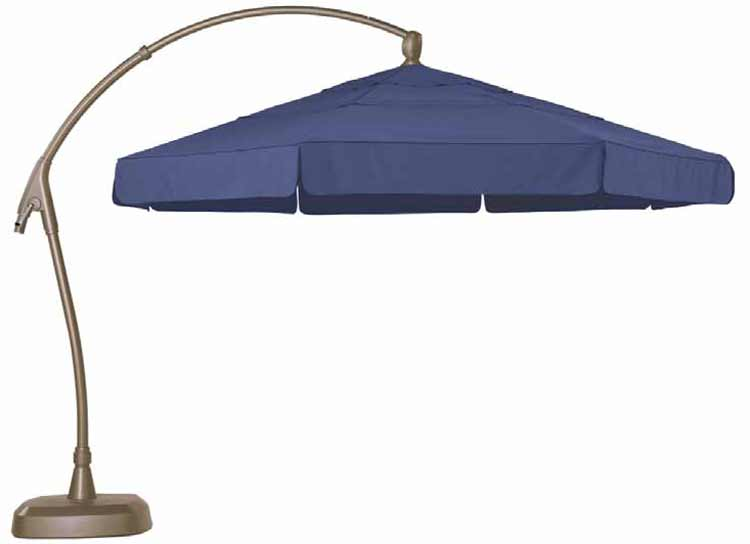 AG28 11' Cantilever Octagon Patio Umbrella
