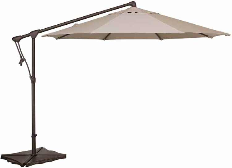 AG19 10' Cantilever Octagon Patio Umbrella
