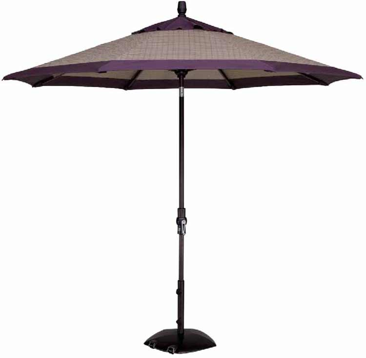 9' Collar Tilt Octagon Patio Umbrella