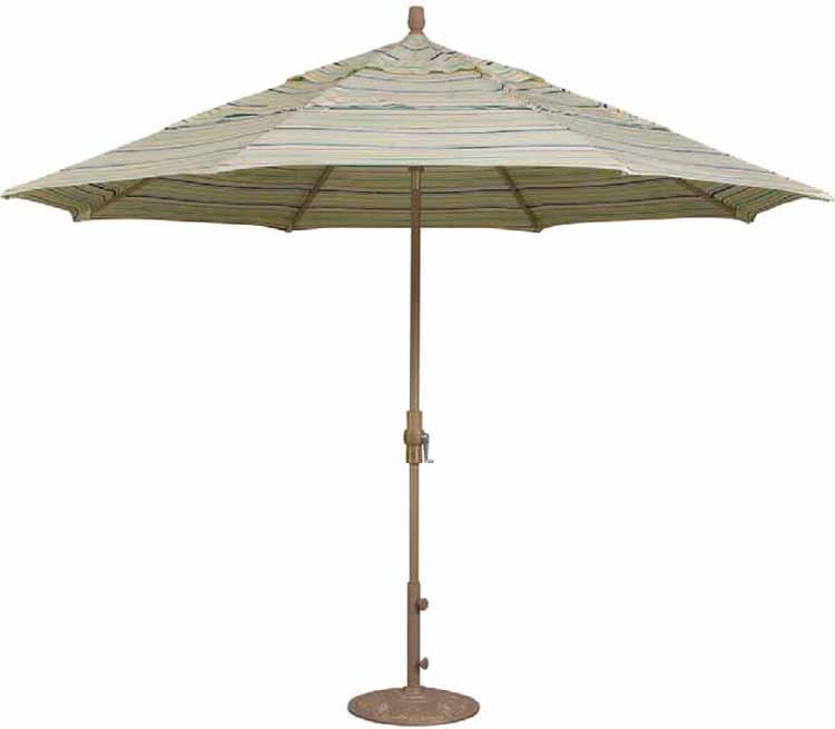 11' Collar Tilt Octagon Patio Umbrella