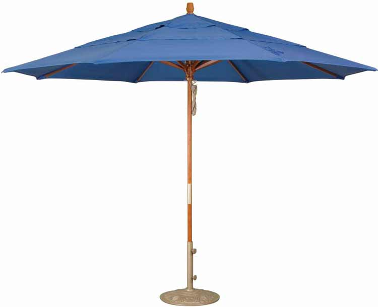 Octagon Patio Umbrella By Treasure Garden 11 Double