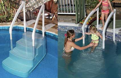 Fiesta Swimming Pool Steps or Step/Ladder Combo