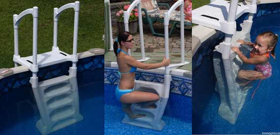 H2O Swimming Pool Ladder