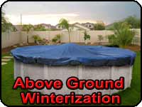 Above Ground Pool Winterization