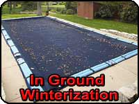 In Ground Pool Winterization