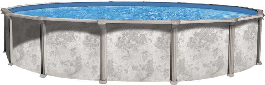 Wilbar Century 52 Inch Above Ground Swimming Pool