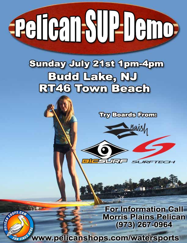 NJ Stand Up Paddle Board SUP Demo 2013