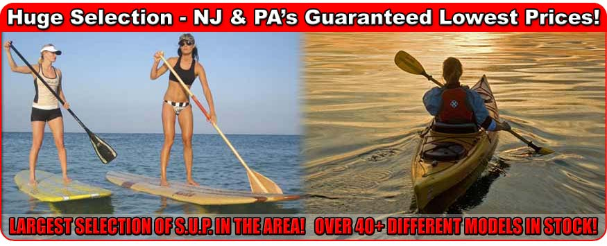 Lowest prices on SUP Boards, Kayak & Watersports