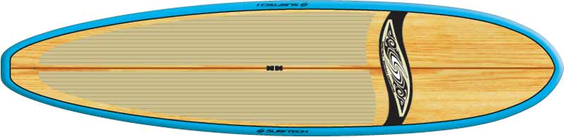 Surftech Balboa Bamboo 10ft 6in BA0020 Stand Up Padde Board