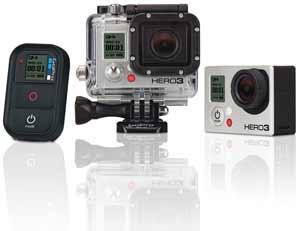 Hero 3 Black Edition Ski & Snowboard Go Pro Cameras