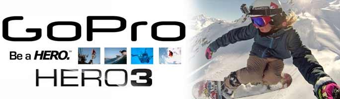 Ski & Snowboard Go Pro Cameras