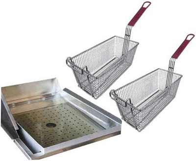 Cal Flame Grill Deep Fryer Helper