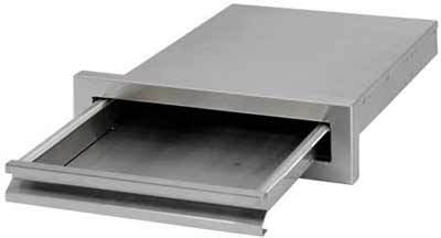 Cal Flame Grill Griddle Tray w/ Storage