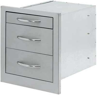 Cal Flame Grill Drawer Storage Wide