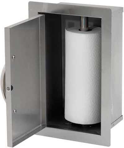 Cal Flame Grill Paper Towel Storage Door