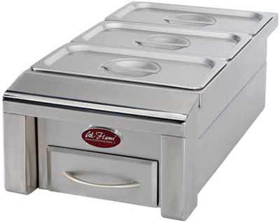 Cal Flame Grill 12in Food Warmer