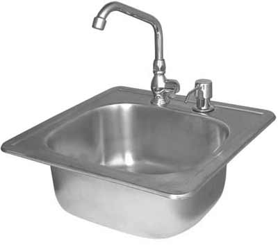 Cal Flame Grill Stainless Steel Sink
