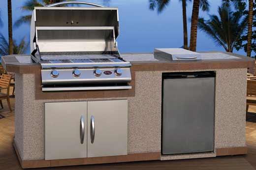 Cal Flame LBK-801 Island Grill