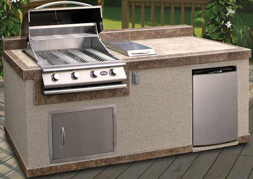 Cal Flame PV6004 Pavillion 6' Island Grill