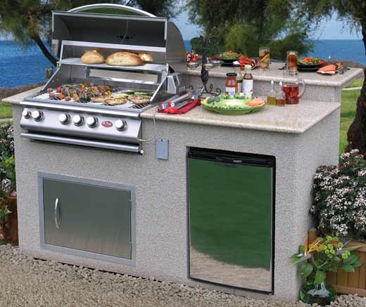 Cal Flame PV6016 Pavillion 6' Island Grill