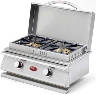 Cal Flame Deluxe Double Side by Side Grill Burners