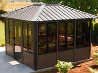 Visscher Vernon Enclosed Gazebo