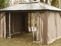 Viscscher Delta Open Air Gazebo