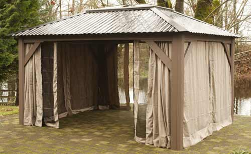 Visscher Della 11'X14' Open Air Gazebo
