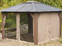 Visscher Victoria Open Air Gazebo