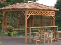 Visscher Chehalis Semi Enclosed Gazebo