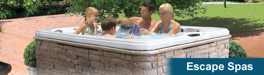 Cal Spas Escape Series Hot Tubs