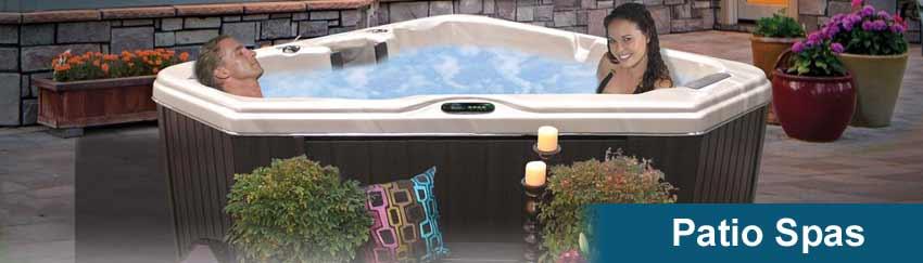 Cal Spas Patio Series Hot Tubs