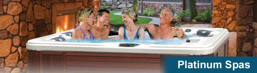 Cal Spas Platinum Series Hot Tubs