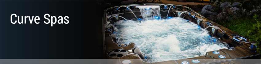 Coast Spas Curve Series Hot Tubs