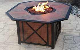 Agio Haywood Fire Table
