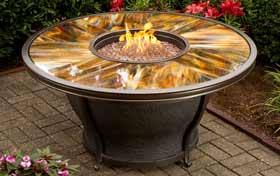 Agio Moonlight Fire Table